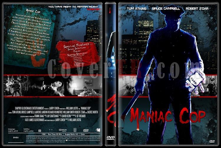 Maniac Cop Collection - Custom Dvd Cover Set - English [1988-1990-1993]-onizleme-3jpg