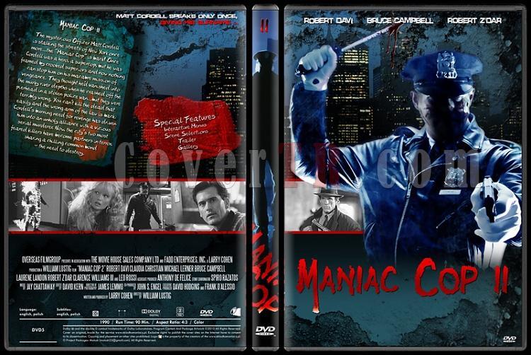Maniac Cop Collection - Custom Dvd Cover Set - English [1988-1990-1993]-onizleme-4jpg
