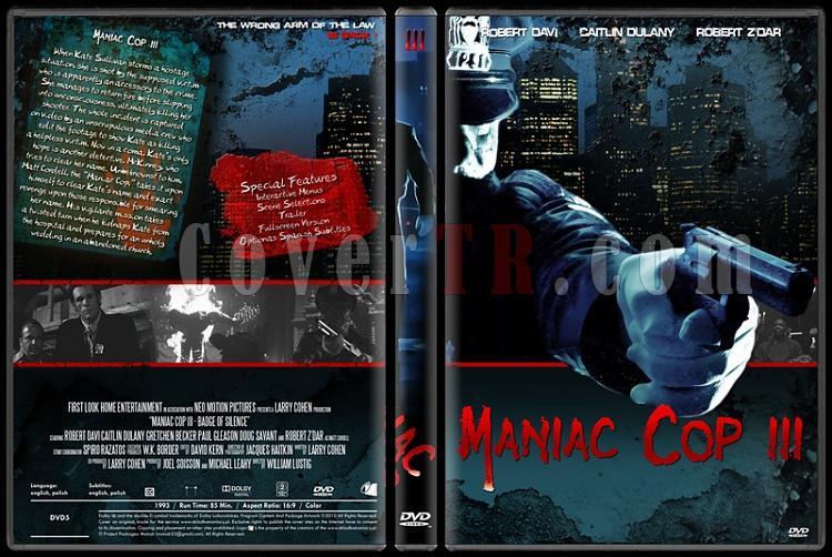 Maniac Cop Collection - Custom Dvd Cover Set - English [1988-1990-1993]-onizleme-5jpg