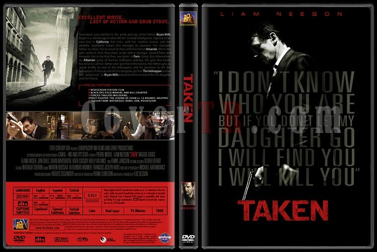 Taken (Duology) - Custom Dvd Cover Set - English [2008-2011]-01jpg