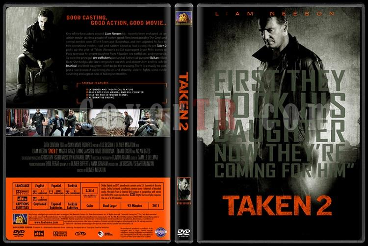 Taken (Duology) - Custom Dvd Cover Set - English [2008-2011]-02jpg