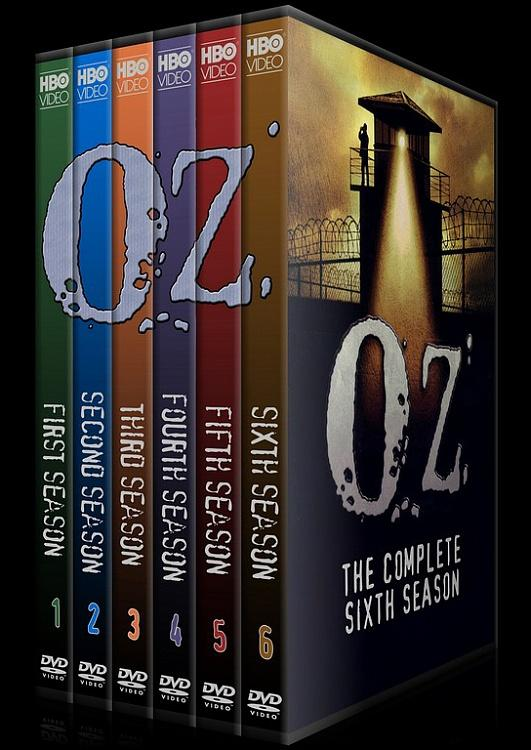 O.Z. (Seasons 1-6) - Custom Dvd Cover Set - English [1997 - 2003]-setozjpg