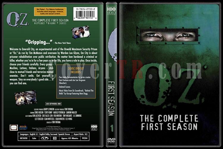 O.Z. (Seasons 1-6) - Custom Dvd Cover Set - English [1997 - 2003]-oz-1jpg