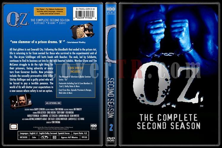 O.Z. (Seasons 1-6) - Custom Dvd Cover Set - English [1997 - 2003]-oz-2jpg