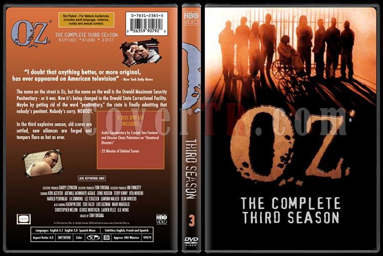 O.Z. (Seasons 1-6) - Custom Dvd Cover Set - English [1997 - 2003]-oz-3jpg