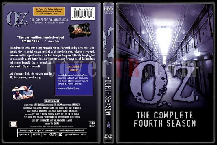 O.Z. (Seasons 1-6) - Custom Dvd Cover Set - English [1997 - 2003]-oz-4jpg