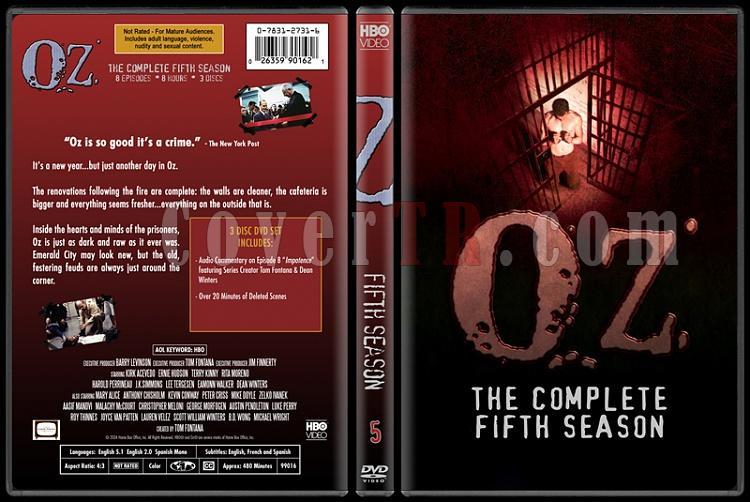 O.Z. (Seasons 1-6) - Custom Dvd Cover Set - English [1997 - 2003]-oz-5jpg