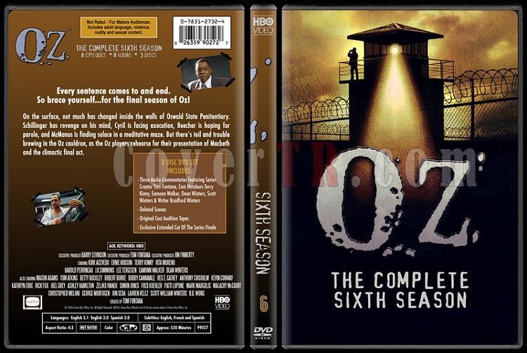 O.Z. (Seasons 1-6) - Custom Dvd Cover Set - English [1997 - 2003]-oz-6jpg