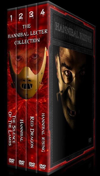 Hannibal Lecter Collection - Custom Dvd Cover Set - English [1991-2007]-fdsafajpg