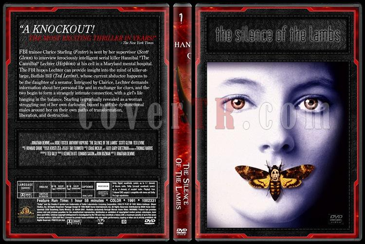 Hannibal Lecter Collection - Custom Dvd Cover Set - English [1991-2007]-1jpg