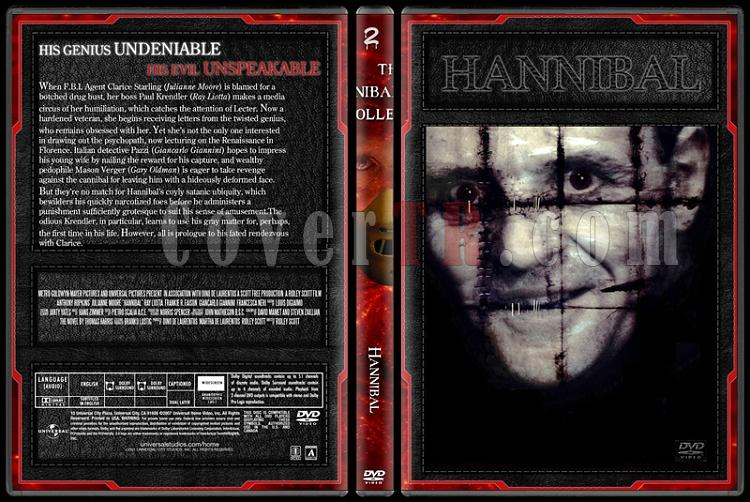 Hannibal Lecter Collection - Custom Dvd Cover Set - English [1991-2007]-2jpg