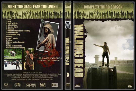 The Walking Dead (Seasons 1-3) - Custom Dvd Cover Set - English [2010-?]-attachmentjpg
