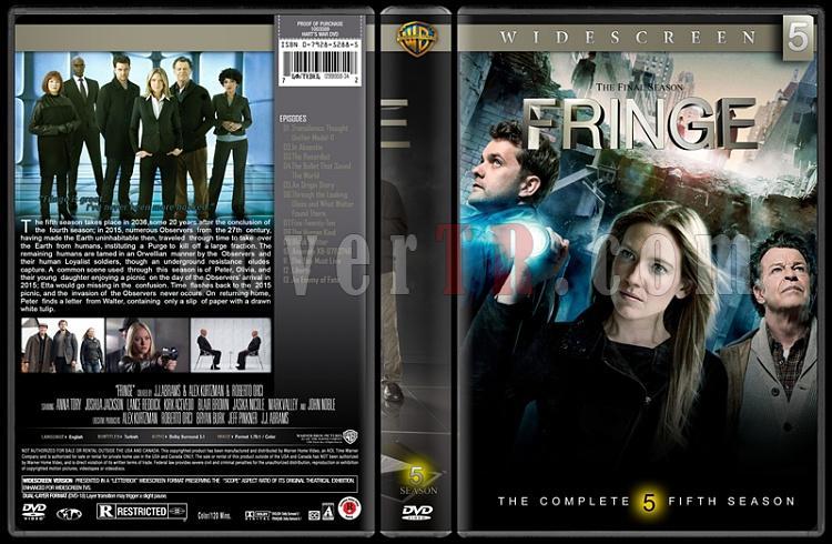 Fringe (Seasons 1-5) - Custom Dvd Cover Set - English [2008-2013]-05jpg