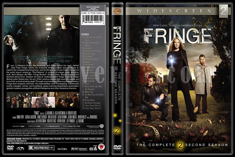 Fringe (Seasons 1-5) - Custom Dvd Cover Set - English [2008-2013]-02jpg