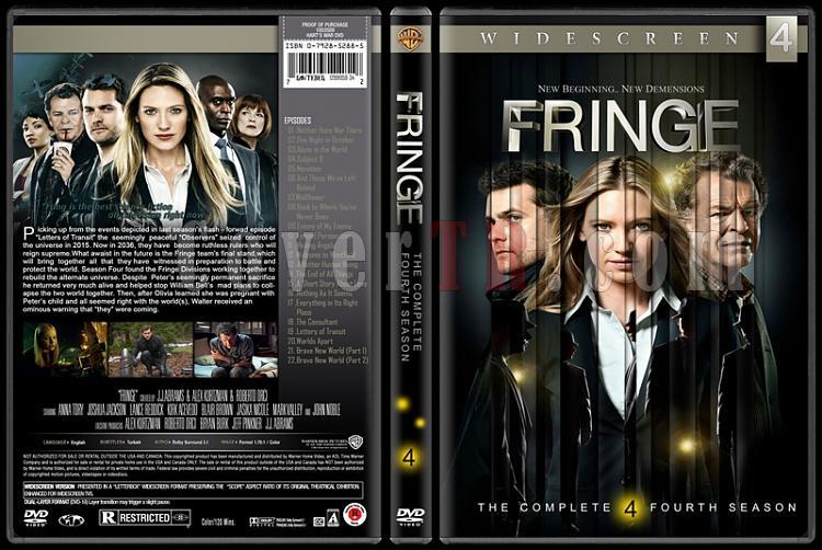 Fringe (Seasons 1-5) - Custom Dvd Cover Set - English [2008-2013]-04jpg