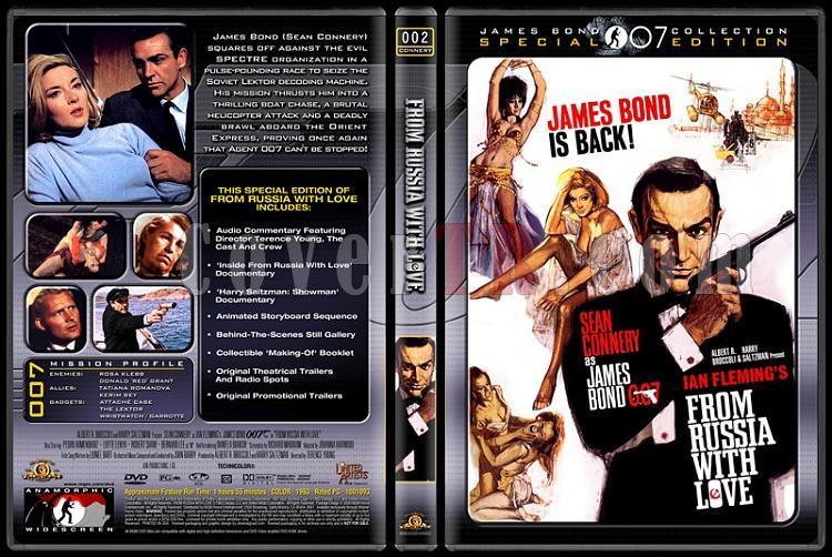 007 James Bond Collection - Custom Dvd Cover Set - English-007-02-russia-lovejpg