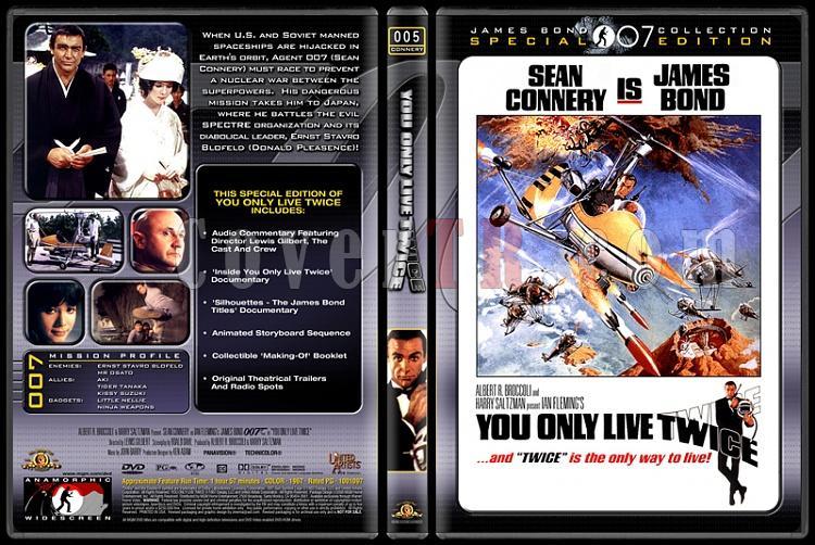 007 James Bond Collection - Custom Dvd Cover Set - English-007-05-you-only-live-twicejpg