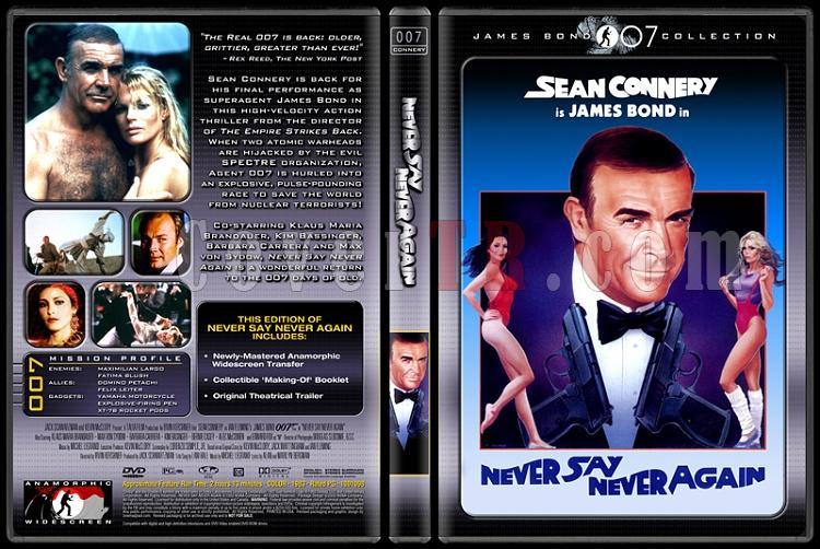 007 James Bond Collection - Custom Dvd Cover Set - English-007-0007-never-say-never-againjpg