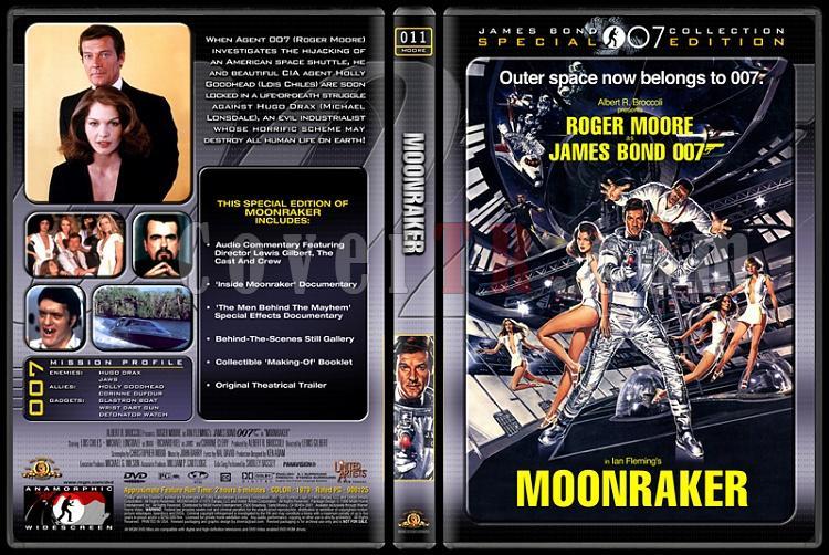 007 James Bond Collection - Custom Dvd Cover Set - English-007-11-moonrakerjpg