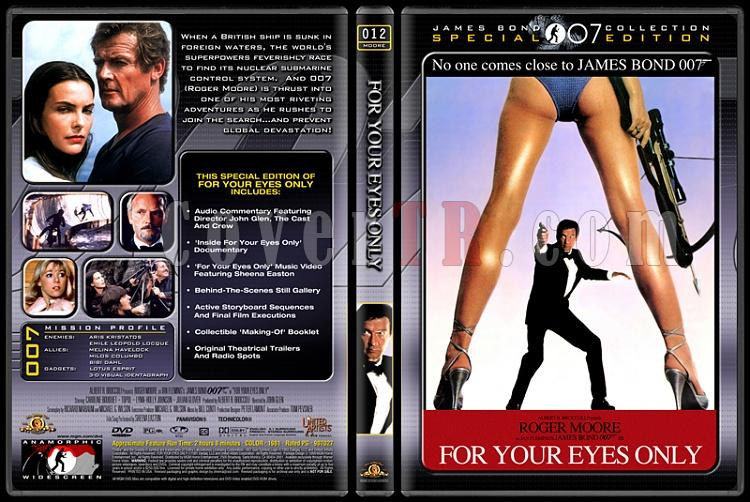 007 James Bond Collection - Custom Dvd Cover Set - English-007-12-your-eyes-onlyjpg