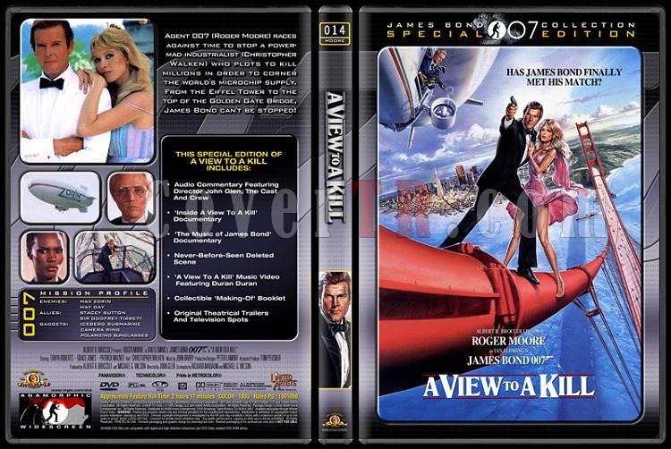 007 James Bond Collection - Custom Dvd Cover Set - English-007-14-view-killjpg