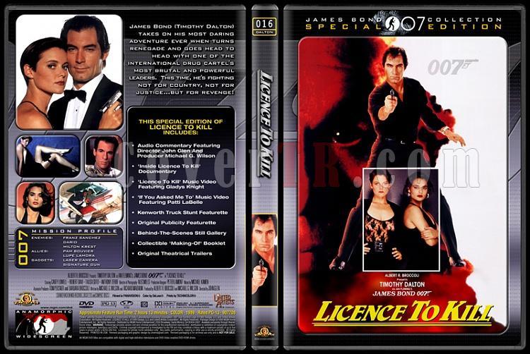 007 James Bond Collection - Custom Dvd Cover Set - English-007-16-licence-killjpg