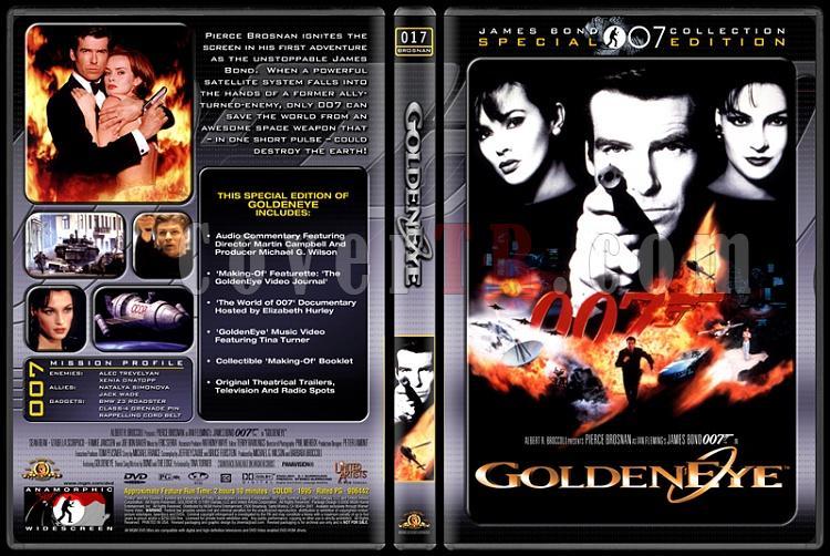 007 James Bond Collection - Custom Dvd Cover Set - English-007-17-goldeneyejpg