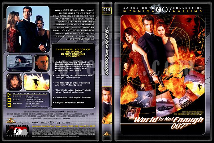007 James Bond Collection - Custom Dvd Cover Set - English-007-19-world-not-enoughjpg