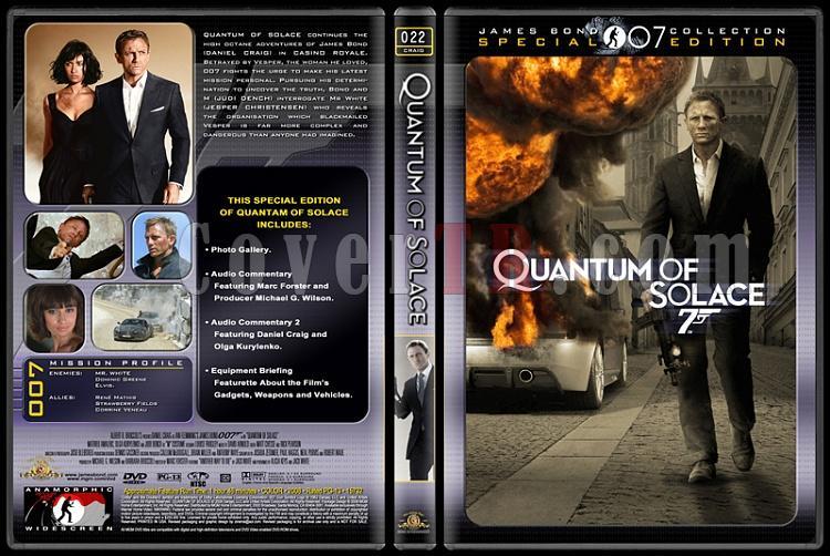007 James Bond Collection - Custom Dvd Cover Set - English-007-22-quantum-solacejpg