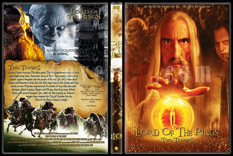 The Lord of the Rings (Yüzüklerin Efendisi) - Custom Dvd Cover Set - English [2001-2003]-2jpg