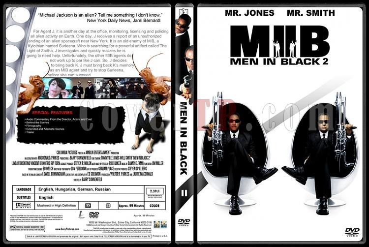 Men in Black (Siyah Giyen Adamlar) - Custom Dvd Cover Set - English [1997-2002-2012]-200jpg