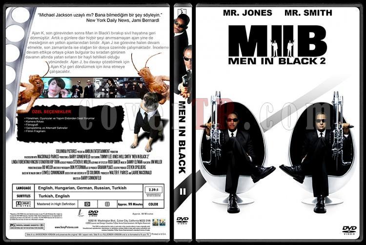 Men in Black (Siyah Giyen Adamlar) - Custom Dvd Cover Set - Türkçe [1997-2002-2012]-200jpg