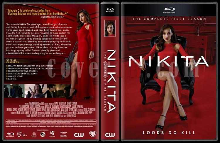 Nikita (Seasons 1-4) - Custom Dvd Cover Set - English [2010-2013]-001jpg