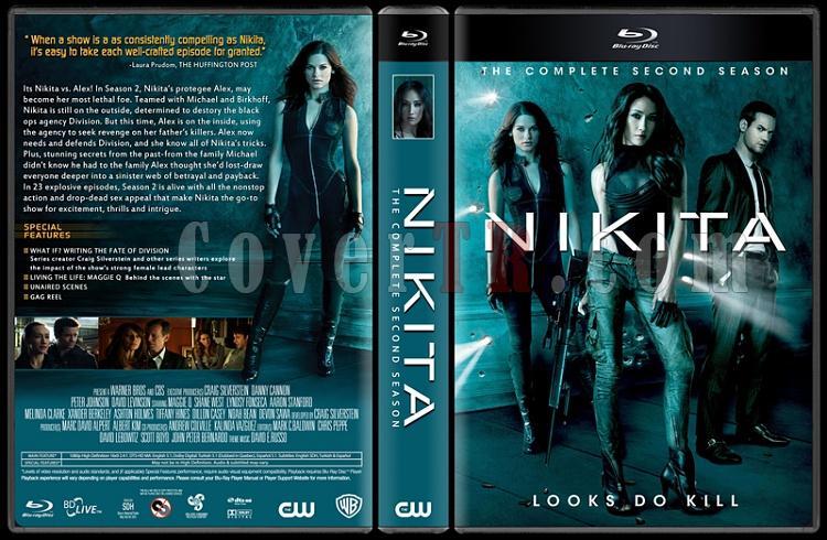 Nikita (Seasons 1-4) - Custom Dvd Cover Set - English [2010-2013]-002jpg