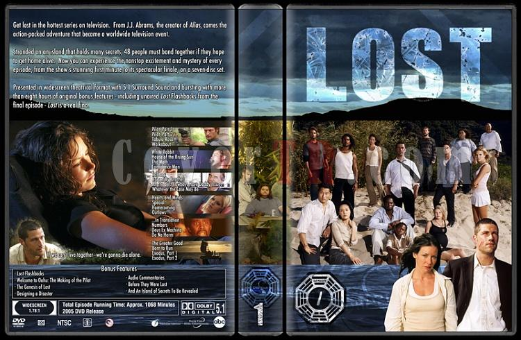 Lost (Seasons 1-6) - Custom Dvd Cover Set - English [2004-2010]-lost-season-1jpg