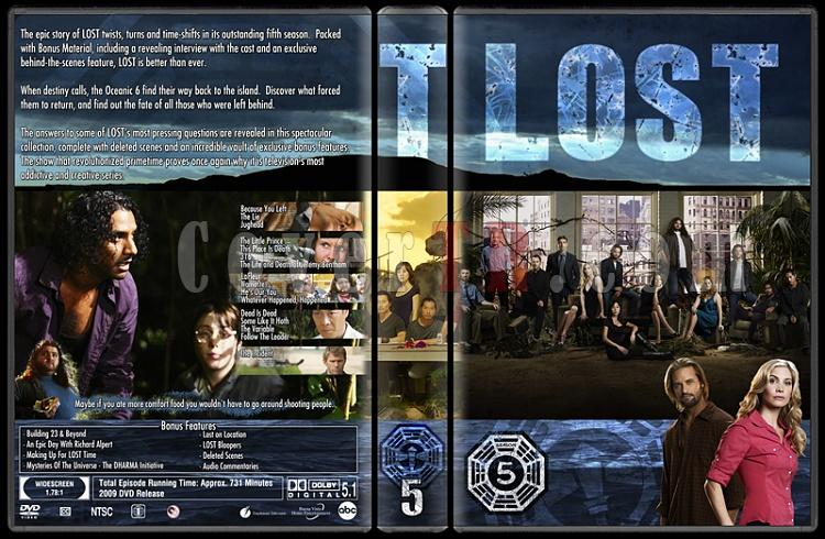 Lost (Seasons 1-6) - Custom Dvd Cover Set - English [2004-2010]-lost-season-5jpg