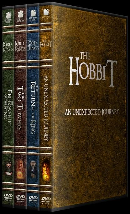 The Lord of the Rings (Yüzüklerin Efendisi) - Custom Dvd Cover Set - English-1-4jpg