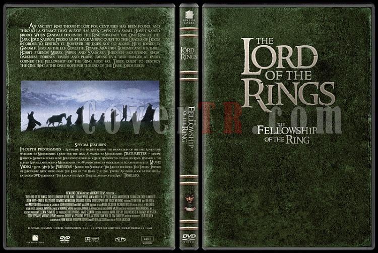 The Lord of the Rings (Yüzüklerin Efendisi) - Custom Dvd Cover Set - English-1jpg