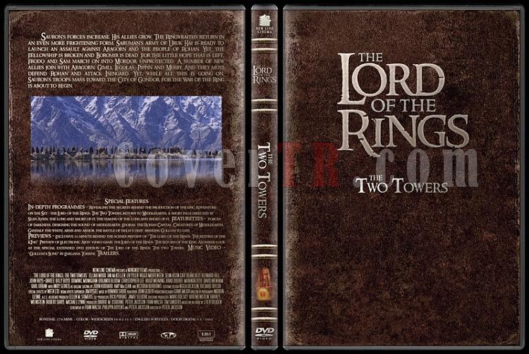 The Lord of the Rings (Yüzüklerin Efendisi) - Custom Dvd Cover Set - English-2jpg