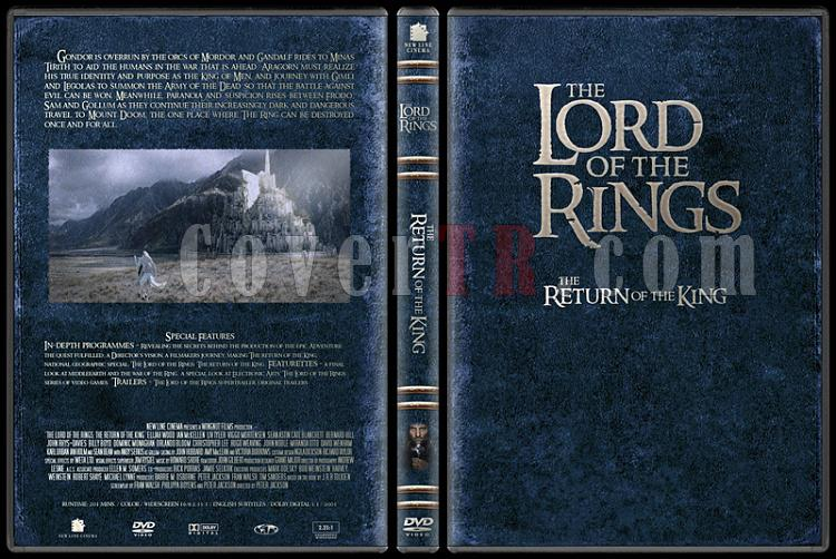 The Lord of the Rings (Yüzüklerin Efendisi) - Custom Dvd Cover Set - English-3jpg