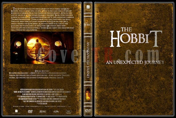 The Lord of the Rings (Yüzüklerin Efendisi) - Custom Dvd Cover Set - English-4jpg