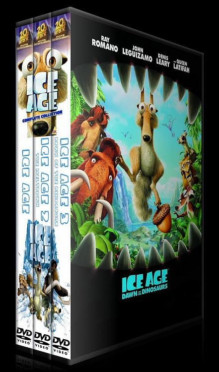 Ice Age (Buz Devri) Collection - Custom Dvd Cover - English [2002-2009]-setjpg