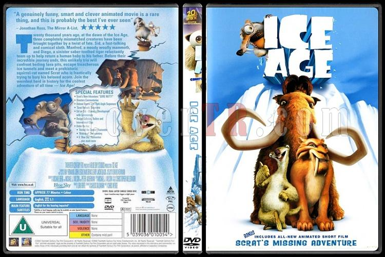 Ice Age (Buz Devri) Collection - Custom Dvd Cover - English [2002-2009]-standardjpg