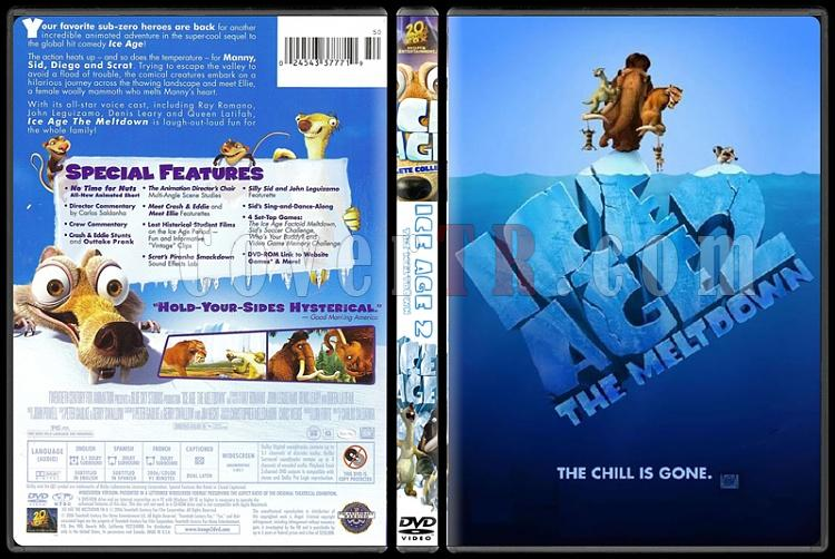 Ice Age (Buz Devri) Collection - Custom Dvd Cover - English [2002-2009]-standard2jpg