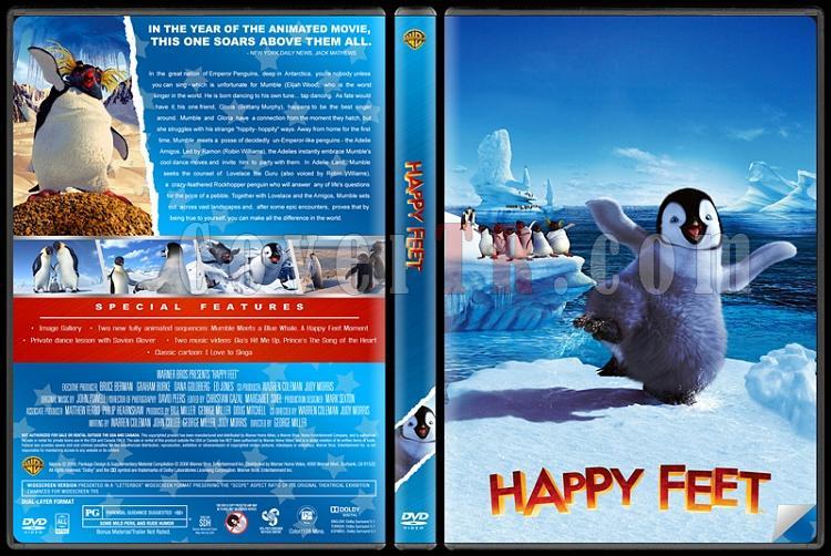 Happy Feet (Neşeli Ayaklar) - Custom Dvd Cover Set - English [2006-2011]-happy-feet-dvdjpg
