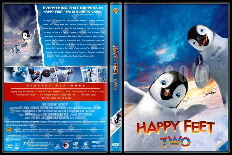 Happy Feet (Neşeli Ayaklar) - Custom Dvd Cover Set - English [2006-2011]-happy-feet-2-dvdjpg