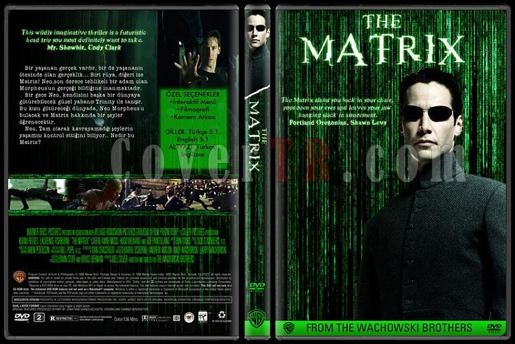The Matrix Collection - Custom Dvd Cover Set - Türkçe-01jpg