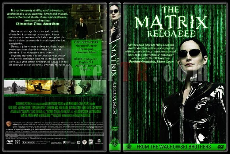 The Matrix Collection - Custom Dvd Cover Set - Türkçe-02jpg