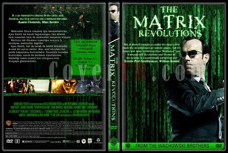 The Matrix Collection - Custom Dvd Cover Set - Türkçe-03jpg