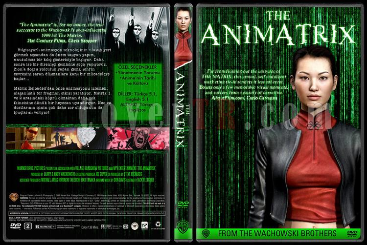 The Matrix Collection - Custom Dvd Cover Set - Türkçe-04jpg